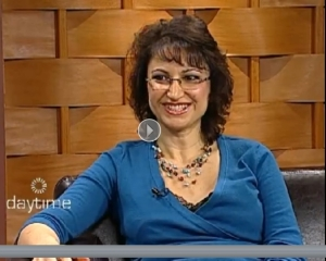 See Tanya on Daytime TV 2010